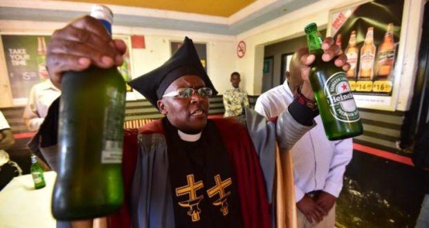 l'Église Gabola et alcoolisme en Afrique du Sud