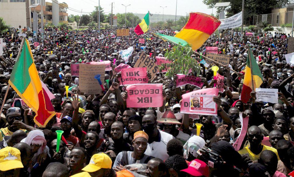 Mali: La manifestation antigouvernementale a sombré dans le chaos